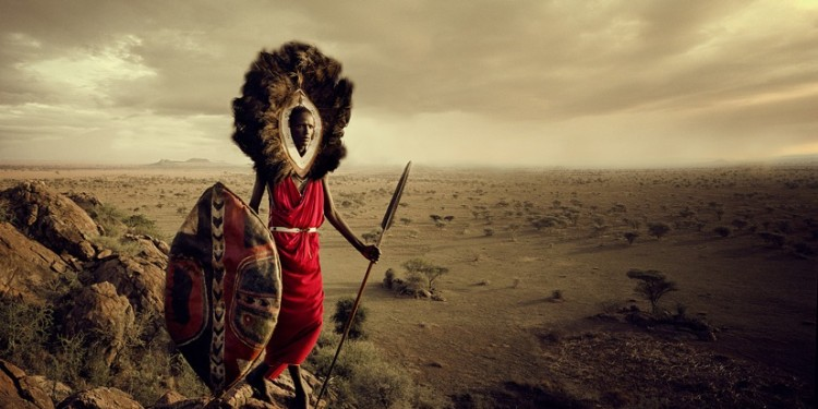 Maasai Warrior Lion