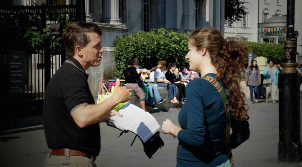 street-evangelising