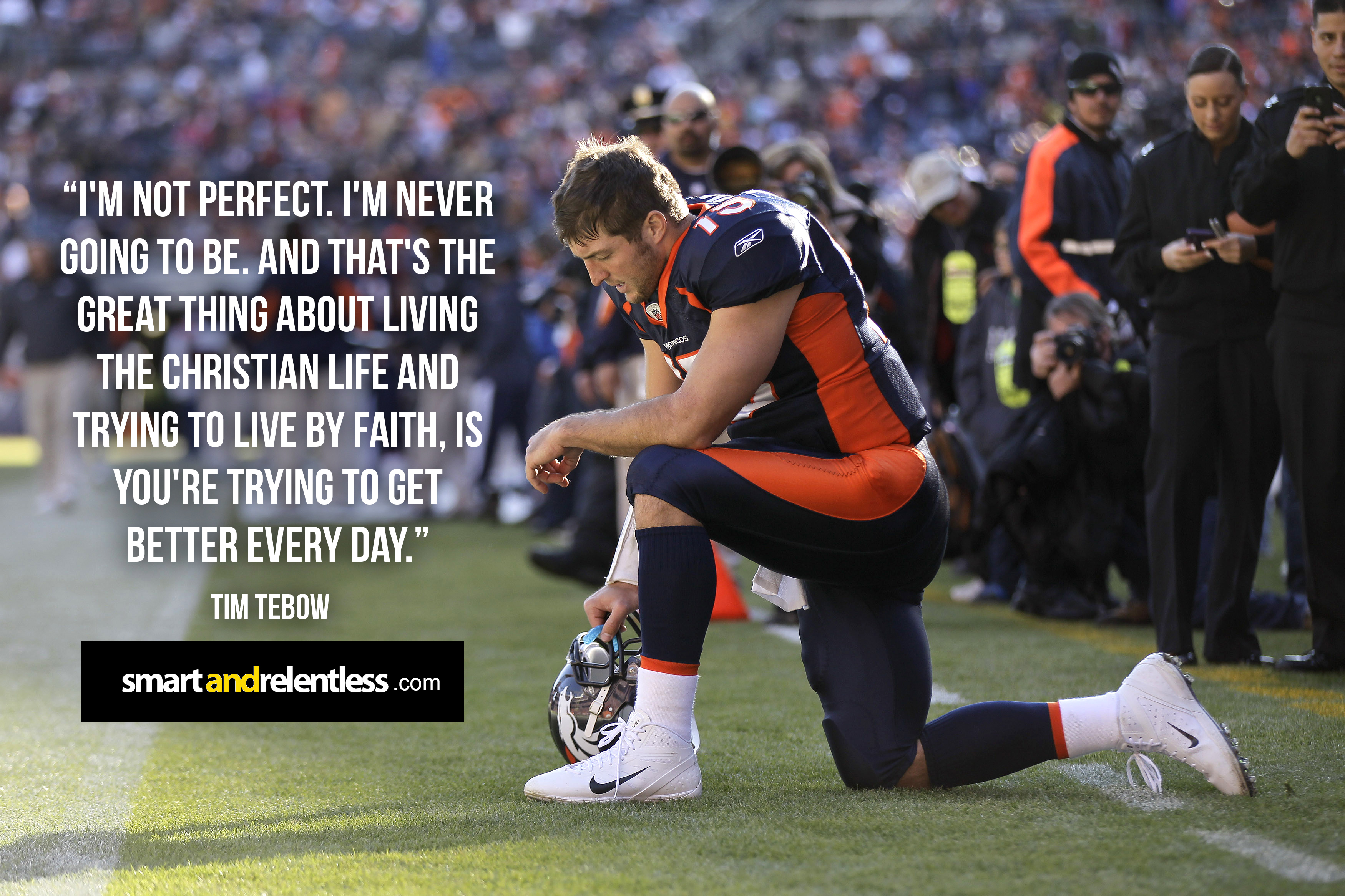 Tim Tebow Inspirational Quotes: Inspiration By Christian Athletes Who Love Jesus Christ