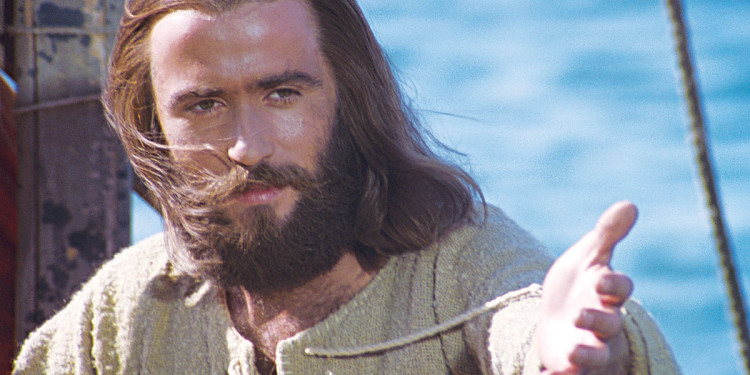 Brian Deacon plays Jesus in 1979 movie titled Jesus
