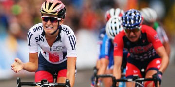 Lizzie Armitstead wins world champion by cultivating her God given gift and persistence.