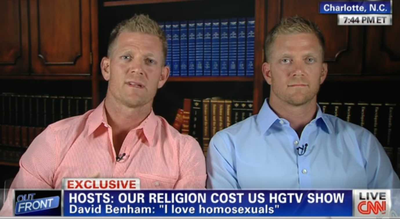 Benham brothers - Persecution