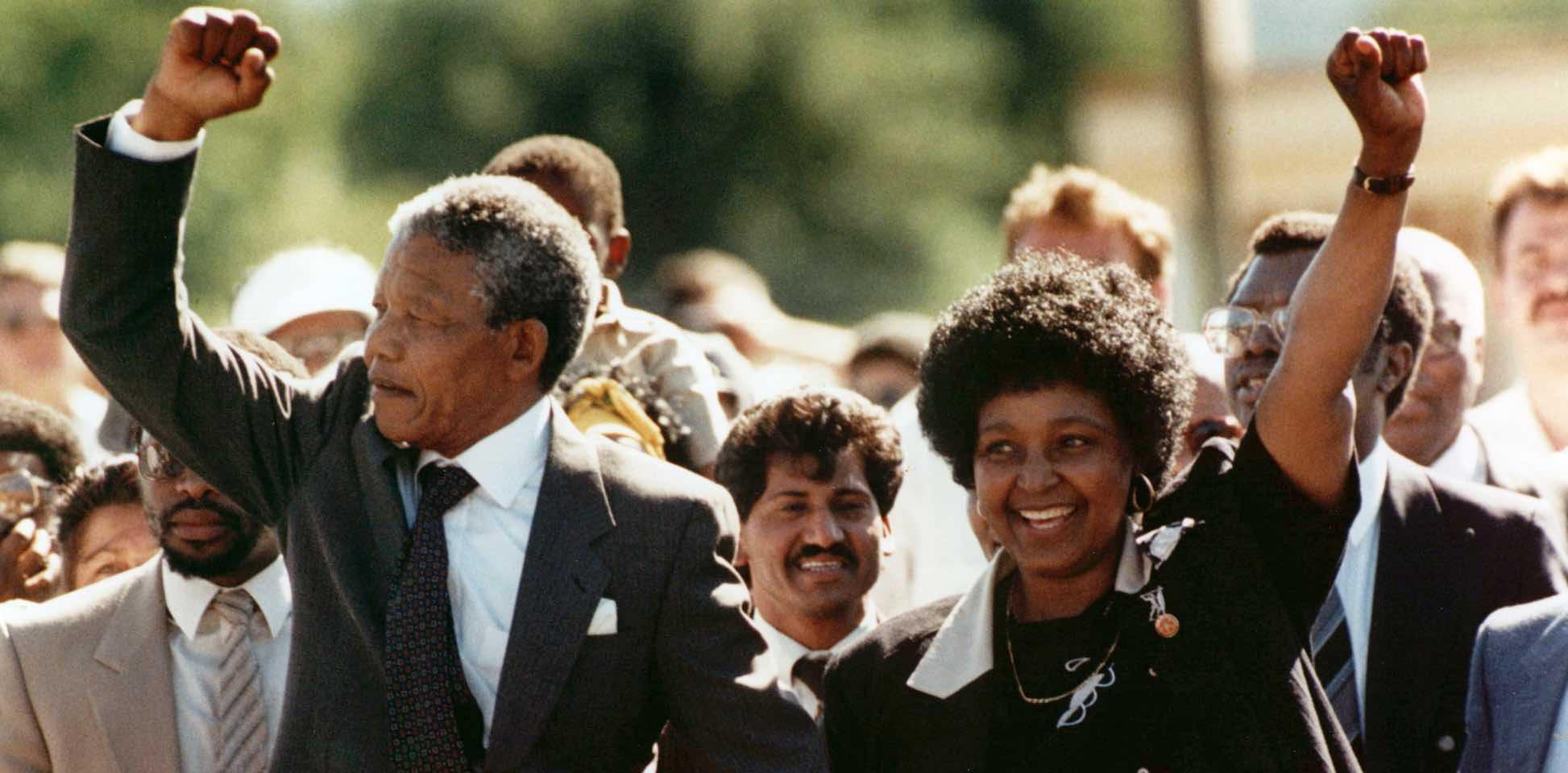 Nelson Mandela - Free jail