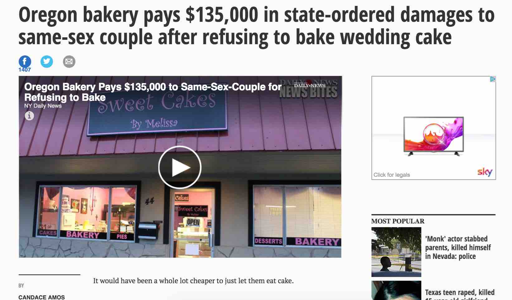 Oregon bakery fine