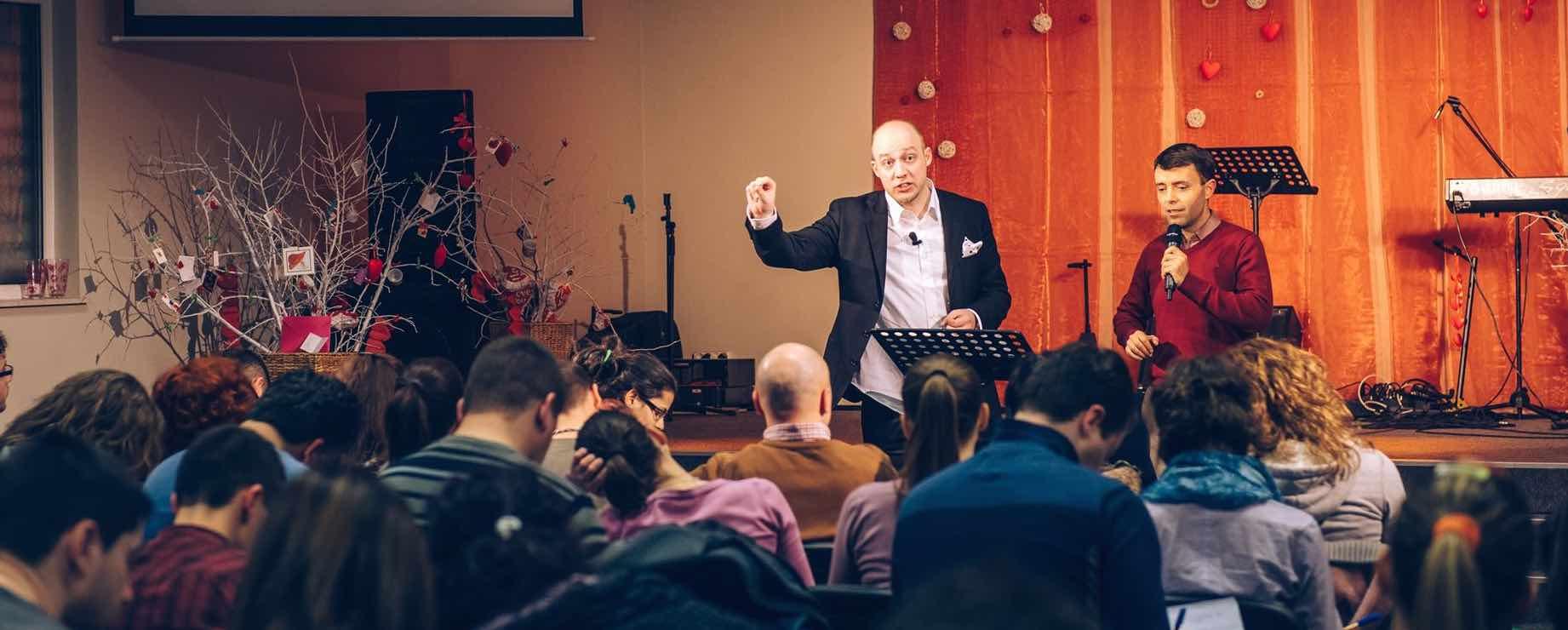 Pastor Derek Schneider - teaching