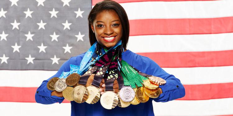 Simone Biles - Medals
