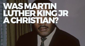Martin Luther King - Christian