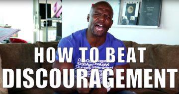 Terry Crew - Discouragement