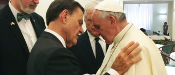 Image - Kenneth Copeland and Pope Francis