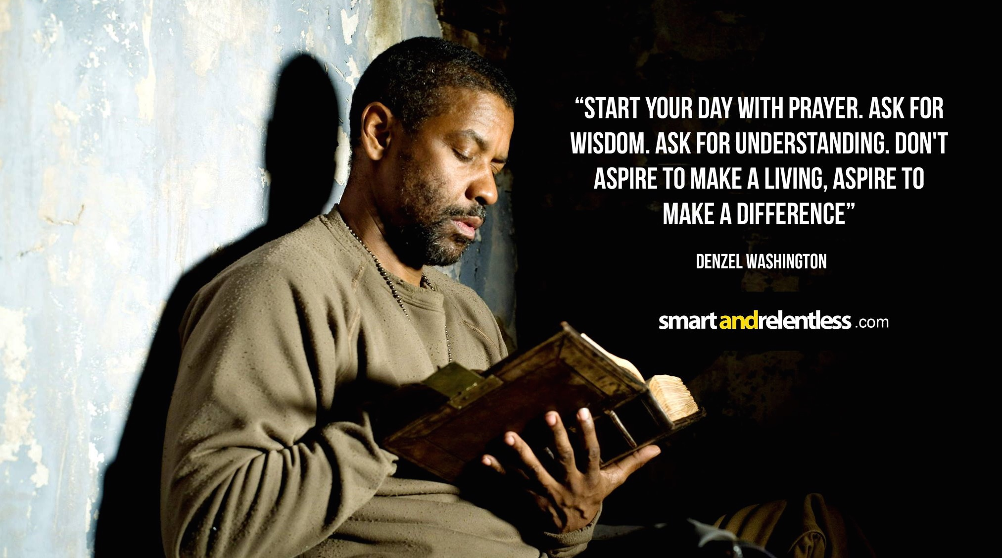 Denzel Washington Quotes 30 Inspirational Denzel Washington Quotes  The Power Of Faith And