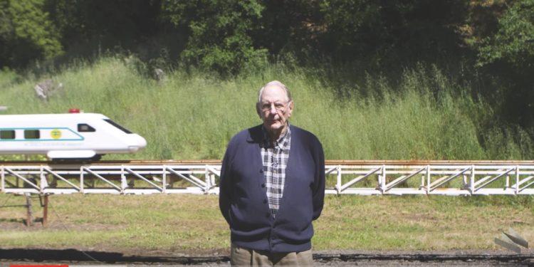 80 year old - train