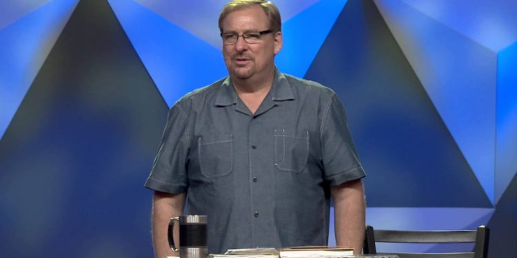 Rick Warren - Toxic thoughts