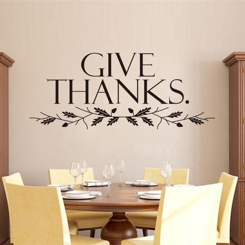 Give Thanks - Vinyl decal