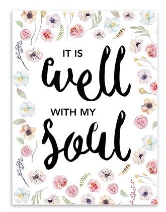 Well with my soul - poster