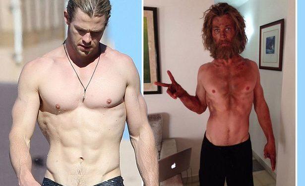 Actors fitness routine