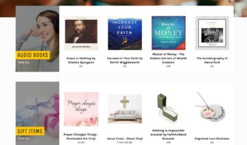 Christian shop - books gifts