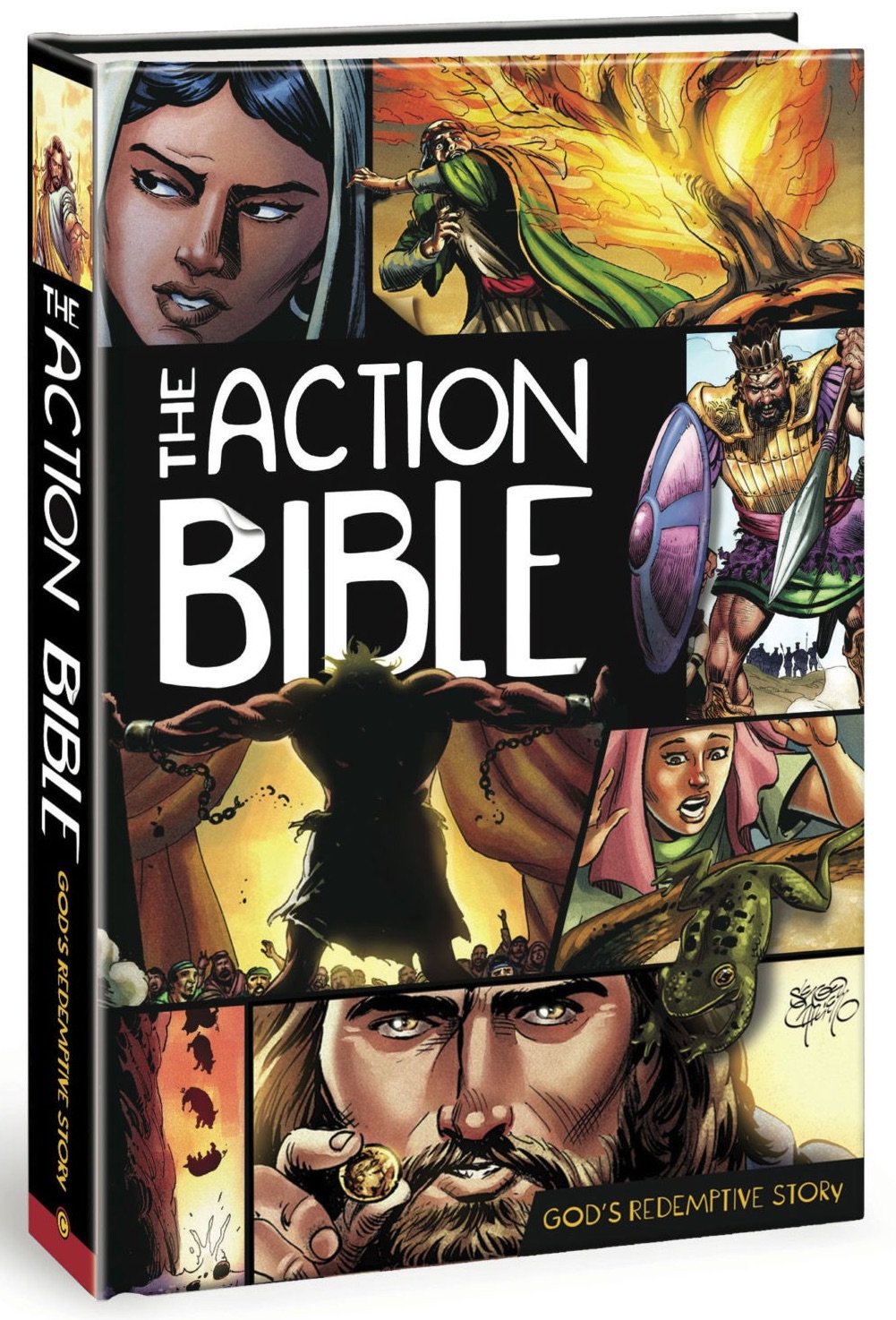 The action bible comic - baptism gifts
